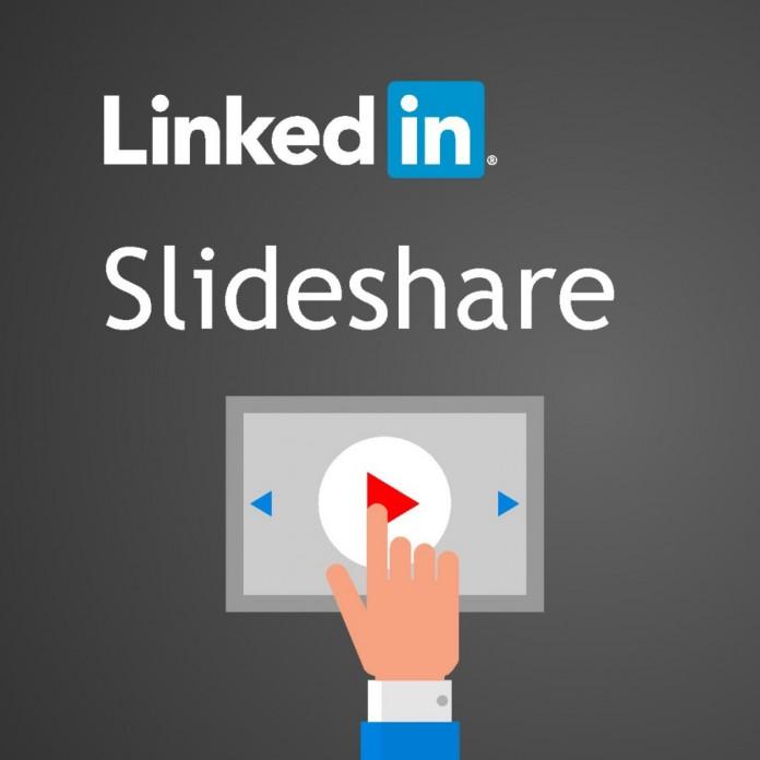 δύναμη του linkedin και του slideshare