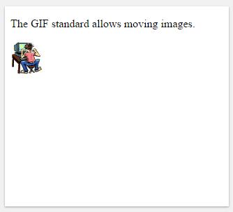 κινούμενες εικόνες στην html