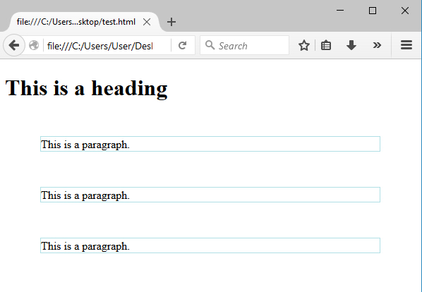 περιθώρια CSS