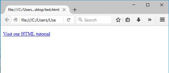 σύνδεσμοι στην html