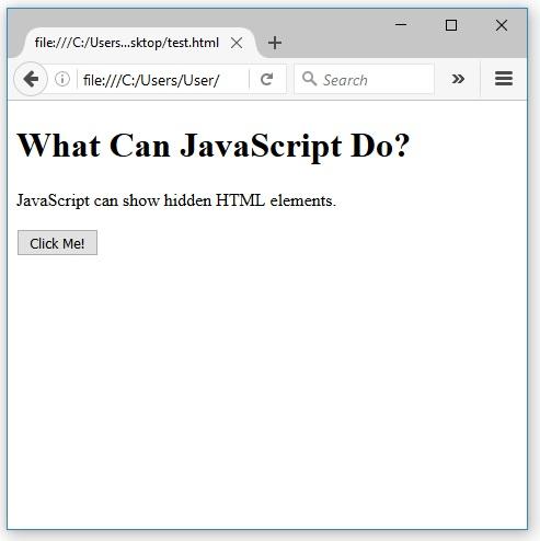 javascript εμφανίζει css
