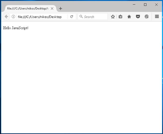 Επιλογή στοιχείου html από τη javascript
