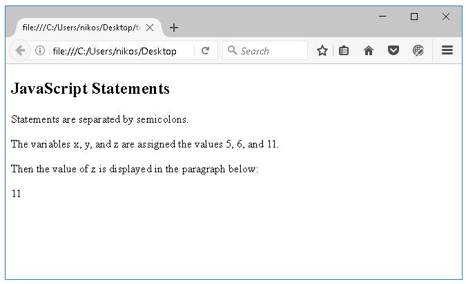 Προγράμματα javascript