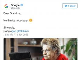 Η απάντηση της Google στην ευγενέστατη κυρία May.