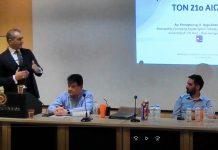Παναγιώτης Αγγελόπουλος Ομιλία στον 1ο Διαγωνισμό Καινοτομίας στην χρήση τεχνολογιών διαδικτύου