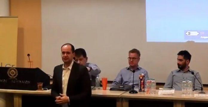 Αναστάσιος Πανόπουλος Ομιλία στον 1ο Διαγωνισμό Καινοτομίας στην χρήση τεχνολογιών διαδικτύου