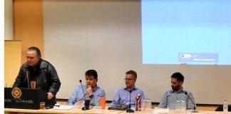 Χαιρετισμός προέδρου ΣΕΔ στον 1ο Διαγωνισμό Καινοτομίας στην χρήση τεχνολογιών διαδικτύου