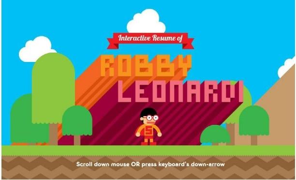 Interactive Resume of Robby Leonardi