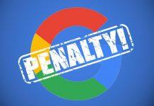 Κίνδυνος Google Penalty