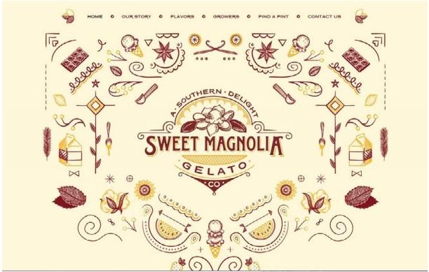 Sweet Magnolia Gelato