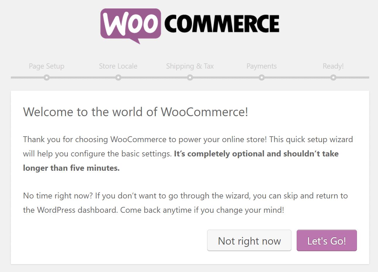 Διαμόρφωση του WooCommerce